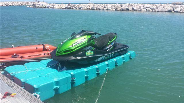 Pontoni plutajuće kocke
