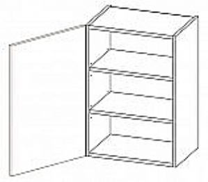 Viseći element 1 vrata