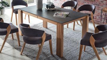 Stol Malaga XL 160-260x90